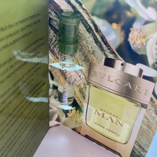 ブルガリ(BVLGARI)のブルガリ香水 ブルガリマンウッドネロリ サンプル1.5ml(香水(男性用))