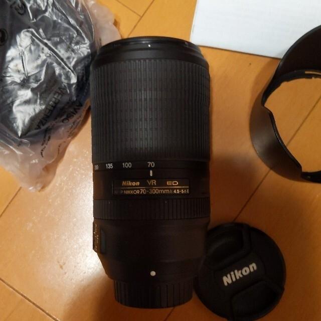 Nikon(ニコン)のNikon AF-P Nikkor 70-300mm F/4.5-5.6ブン様専 スマホ/家電/カメラのカメラ(レンズ(ズーム))の商品写真