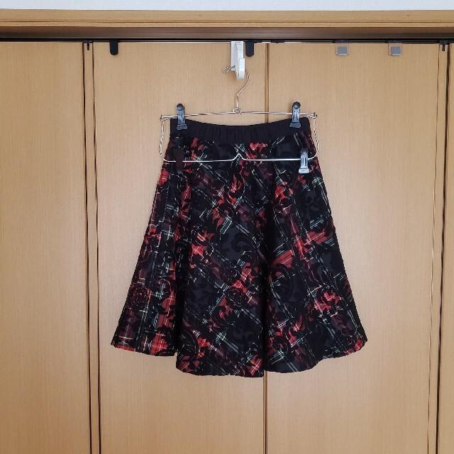 DOLLY GIRL BY ANNA SUI(ドーリーガールバイアナスイ)の美品 アナスイ スカート レディースのスカート(ひざ丈スカート)の商品写真