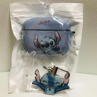 airpods pro エアーポッズ プロ ケース ディズニー スティッチ(ヘッドフォン/イヤフォン)