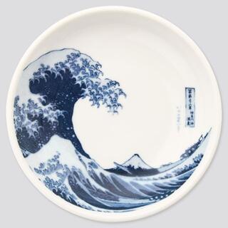 ユニクロ(UNIQLO)の新品 江戸浮世絵 葛飾 北斎 マメザラ(12cm)(食器)