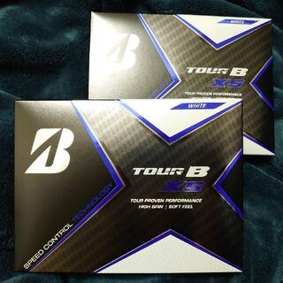 ブリヂストン(BRIDGESTONE)のブリヂストン TOUR B XS  ホワイト ゴルフボール 2ダース(その他)