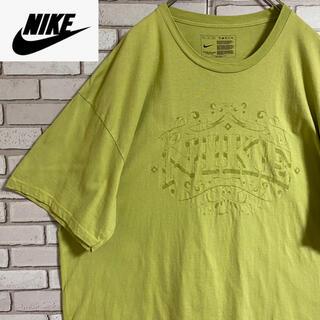 ナイキ(NIKE)の90s 古着 ナイキ Tシャツ 立体プリント スウォッシュロゴ ビッグシルエット(Tシャツ/カットソー(半袖/袖なし))