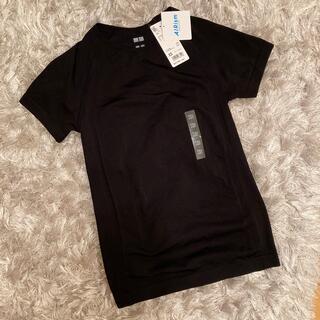 ユニクロ(UNIQLO)のUNIQLO エアリズムシームレスT (半袖)XS(Tシャツ(半袖/袖なし))
