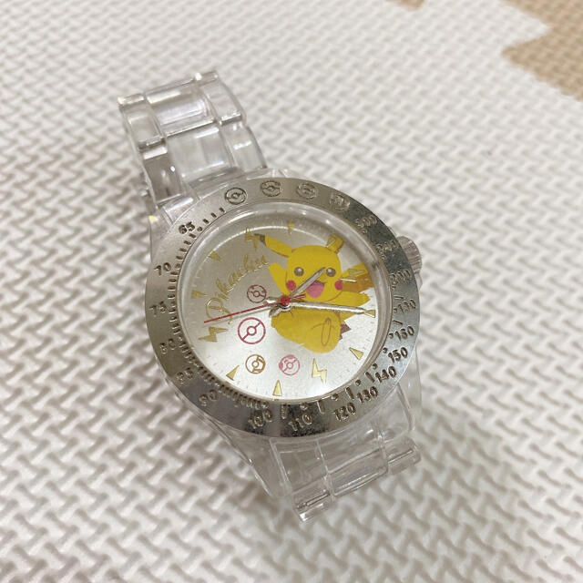 ポケモン(ポケモン)のピカチュウ  腕時計 キッズ/ベビー/マタニティのこども用ファッション小物(腕時計)の商品写真