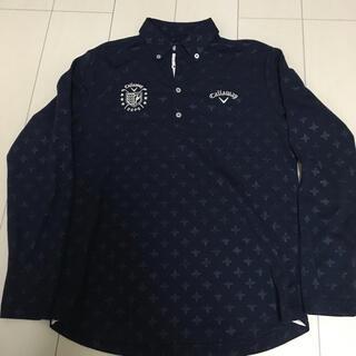 Callaway Golf - キャロウェイ 長袖 ゴルフ メンズ ポロシャツ