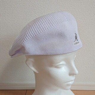 カンゴール(KANGOL)のXL 新品 KANGOL TROPIC 504 VENTAIR ハンチング 白(ハンチング/ベレー帽)