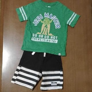 ベビーギャップ(babyGAP)の【babyGAP】【BREEZE】Tシャツ&ハーフパンツ  ☆2点セット☆(Tシャツ/カットソー)
