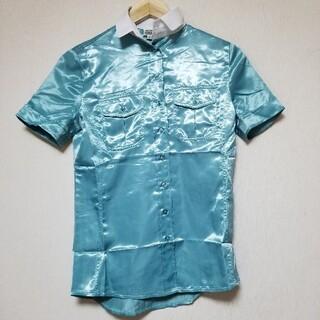 ジャンフランコフェレ(Gianfranco FERRE)の大韓航空/KOREAN AIR・キャビンアテンダント制服/青半袖ブラウス(その他)