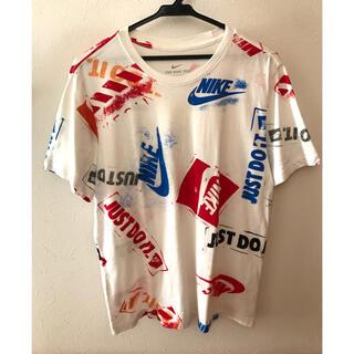 ナイキ(NIKE)のNIKE ナイキ 総柄Tシャツ(Tシャツ/カットソー(半袖/袖なし))