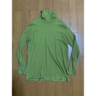 ピースマイナスワン(PEACEMINUSONE)のpragmatic ボーダータートルネック サイズ2(Tシャツ/カットソー(七分/長袖))