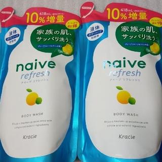 Kracie - ナイーブボディーソープ つめかえ用 2袋  (10%増量品418ml)