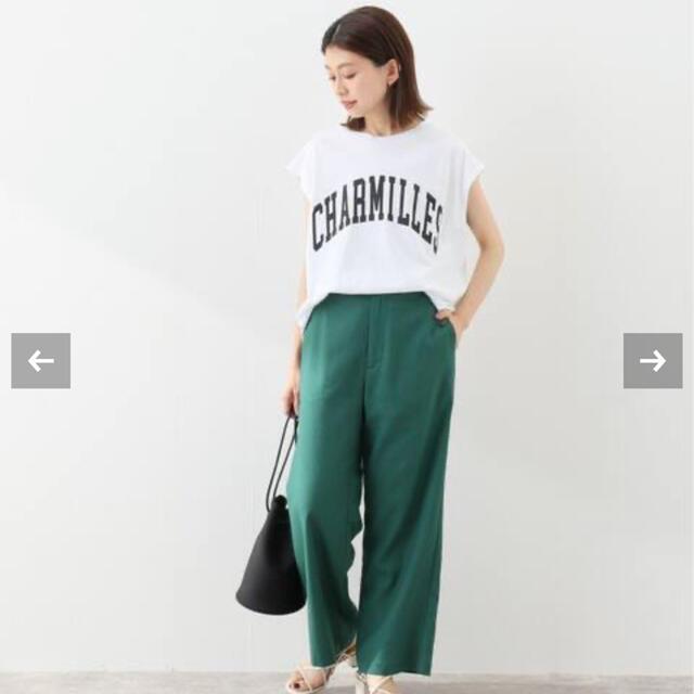 IENA SLOBE(イエナスローブ)のtk様専用 イエナスローブ 新作 新品未使用 ノースリーブTシャツ レディースのトップス(カットソー(半袖/袖なし))の商品写真