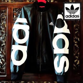 アディダス(adidas)のアディダス ビッグロゴ  ウィンドブレーカー ジャージ ナイロンパーカー(ナイロンジャケット)