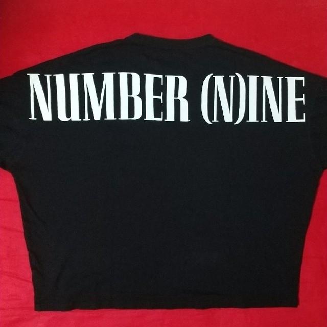 NUMBER (N)INE(ナンバーナイン)のナンバーナイン NUMBER (N)INE ビックシルエット 黒 ブラック レア メンズのトップス(Tシャツ/カットソー(七分/長袖))の商品写真