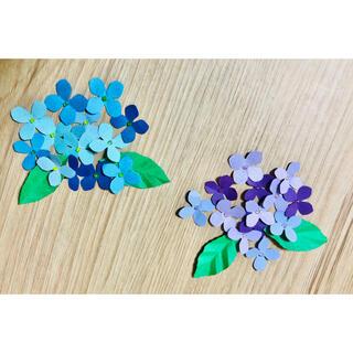 紫陽花フレーク 紫陽花折り紙(ドライフラワー)