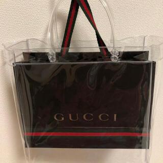グッチ(Gucci)のグッチ ショッパー&クリアバック(ショップ袋)