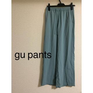 GU - gu カラーパンツ Mサイズ