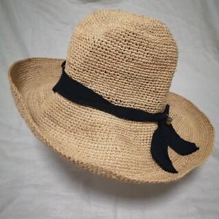 カシラ(CA4LA)のCA4LA ラフィアハット(麦わら帽子/ストローハット)