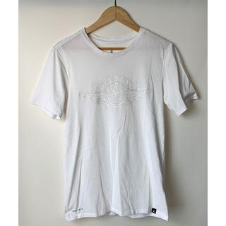 ナイキ(NIKE)のナイキ ジョーダン ウイングロゴ ドライフィット Tシャツ 白 S(Tシャツ/カットソー(半袖/袖なし))