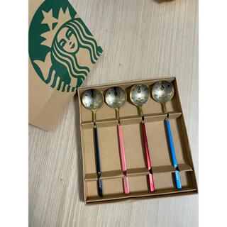 スタバ Starbucksのスプーンセット