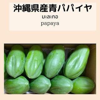 沖縄県産青パパイヤ10Kg =9,000円(野菜)