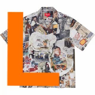 Supreme - 21ss Supreme Dash's Wall Rayon S/S Shirt