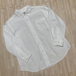 ファミリア(familiar)の美品☆ファミリア シャツ カッターシャツ ホワイト 110(Tシャツ/カットソー)