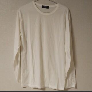 BACK NUMBER - back number 新品 長袖Tシャツ カットソー ホワイト 白 シンプル