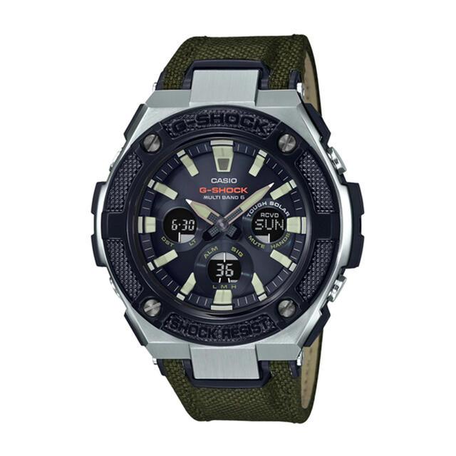 G-SHOCK(ジーショック)のg-shock gst-w330 ソーラー 美品 メンズの時計(腕時計(アナログ))の商品写真
