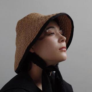 マメ(mame)のFUMIE=TANAKA×La Maison de Lyllisコラボ(麦わら帽子/ストローハット)