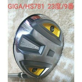 イオンスポーツ(EonSportsVR)のイオンスポーツ GIGA/ギガHS781 稀少FW/9W 23°(クラブ)