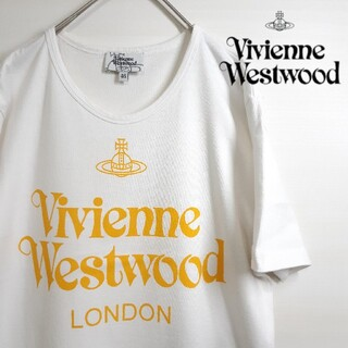Vivienne Westwood - Vivienne Westwood ロゴ 半袖 Tシャツ ホワイト メンズ M