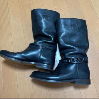 グッチ(Gucci)のGUCCI グッチ エンジニアブーツ ロングブーツ BOOTS(ブーツ)