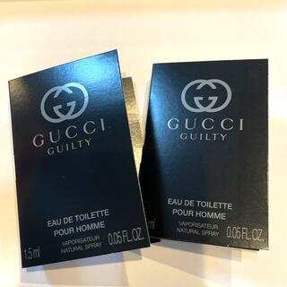 グッチ(Gucci)のGUCCI GUILTY グッチ ギルティ プールオム 1.5ml×2本セット(香水(男性用))