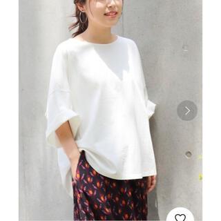 スピックアンドスパン(Spick and Span)の【Spick&Span】BIG Tシャツ white(Tシャツ(半袖/袖なし))