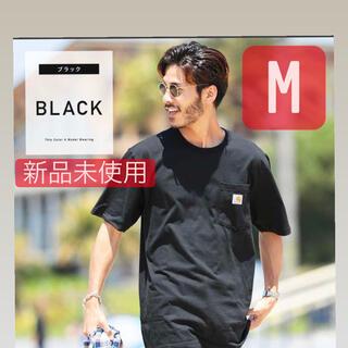 カーハート(carhartt)の【新品Mサイズ】CARHARTT カーハート ポケット半袖Tシャツ ブラック黒(Tシャツ/カットソー(半袖/袖なし))