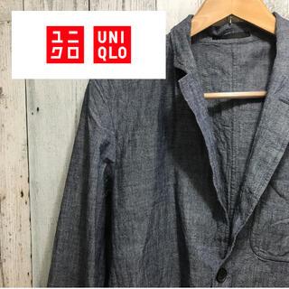 UNIQLO - ユニクロ テーラードジャケット 美品 Sサイズ グレー