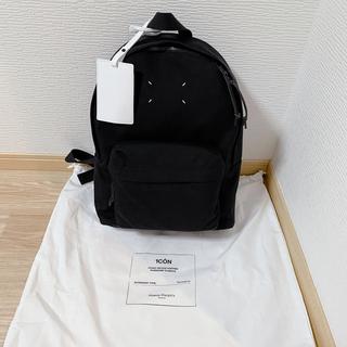 マルタンマルジェラ(Maison Martin Margiela)の新品未使用 メゾンマルジェラ アイコン バックパック リュック ブラック 黒(バッグパック/リュック)