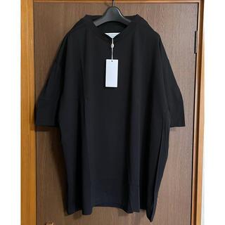 Maison Martin Margiela - 黒XS新品 メゾン マルジェラ アウトライン オーバーサイズ Tシャツ ブラック