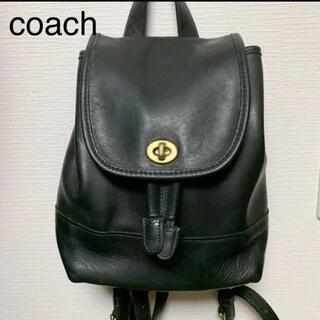 COACH - COACH オールドコーチ リュック ブラック