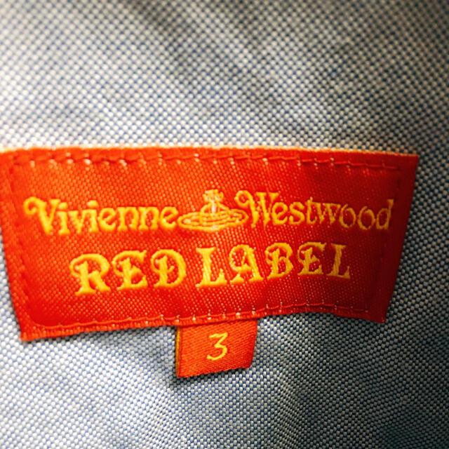 Vivienne Westwood(ヴィヴィアンウエストウッド)のviviennewestwood ブラウス  サイズ3 レディースのトップス(シャツ/ブラウス(半袖/袖なし))の商品写真