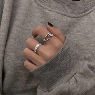 ザラ(ZARA)の新品 リング2個セット(リング(指輪))