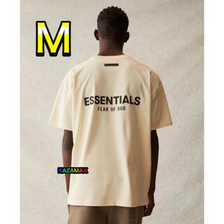 FEAR OF GOD - FOG Essentials エッセンシャルズ クリーム Tシャツ M