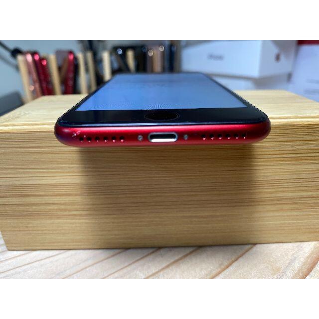 iPhone 8 Red 64GB SIMフリー スマホ/家電/カメラのスマートフォン/携帯電話(スマートフォン本体)の商品写真