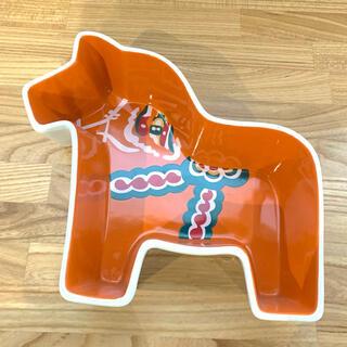 Dala Horse カラフルディッシュ 深皿 sagaform ウマ 北欧食器