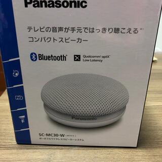 Panasonic - ワイヤレススピーカー Panasonic SC-MC30-W ホワイト