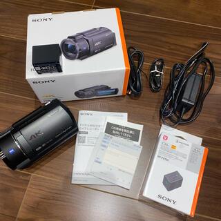 SONY - SONY FDR-AX45(TI) ビデオカメラ+バッテリー付き 超お買い得