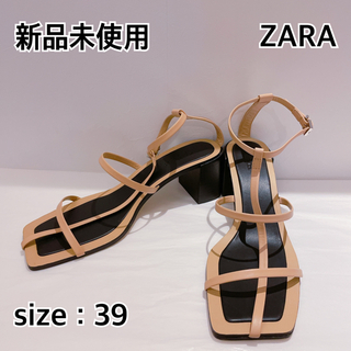 ZARA - 新品未使用『ZARA』サンダル