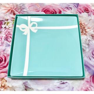 Tiffany & Co. - Tiffany♥プレート♥ブルーボウ リボン♥食器 皿 おしゃれ